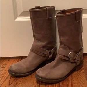 Lucky Brand Brown Leather Boots